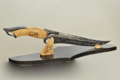 "Нож ""Турецкий"" с рукоядкой из бивня мамонта"