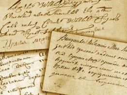 Работа с архивными документами (примеры документов, чтение старых документов, основы палеографии)